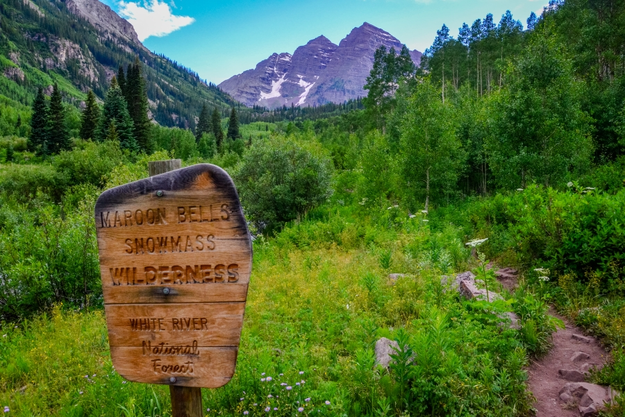 Maroon Bells, CO • © Hobbit Hill Photography