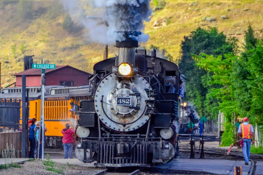 Durango-Silverton Narrow Gauge RR, Durango, CO • © Hobbit Hill Photography